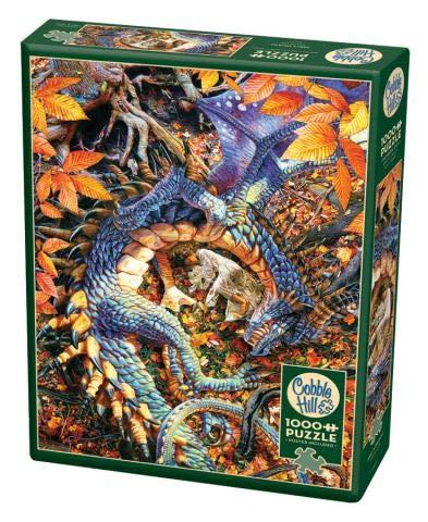 Cobble Hill Abby's Dragon - Puzzle de 1000 piezas