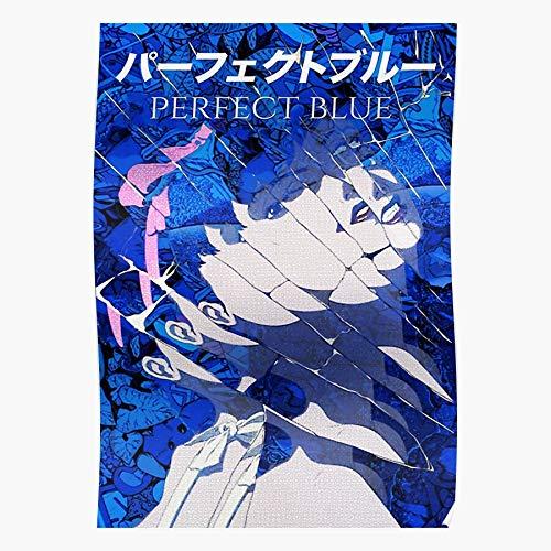 Manga Fan Blue Btc Movie Perfect Japan Japanese Art Anime Home Decor Wall Art Print Poster !