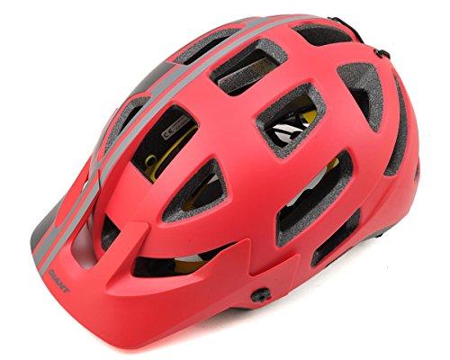 Giant Fahrradhelm Rail MIPS Farbe rot-schwarz Größe L 59-63 cm