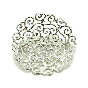 Brosche aus 925 Sterling Silber Empress