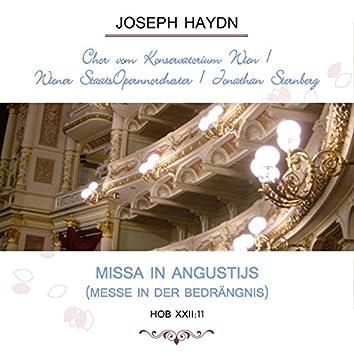 Chor Vom Konservatorium Wien / Wiener Staatsopernnorchester / Jonathan Sternberg Play: Joseph Haydn: Missa in Angustijs (Messe in Der Bedrängnis), Hob Xxii:11 [Live]
