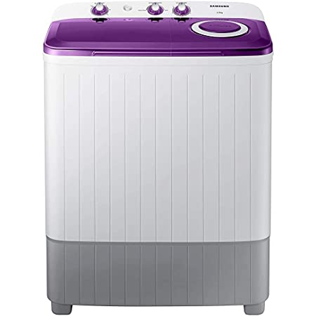 Samsung 6.0 Kg 5 Star Semi-Automatic Top Loading Washing Machine (WT60R2000LL/TL, Light Grey, Center jet technology)