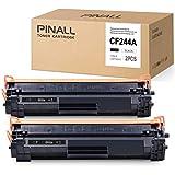 PINALL (CON CHIP) Tóner compatible con HP CF244A 44A para HP Laserjet Pro M15w M15a M16w M16a M29w M29a HP Laserjet Pro MFP M28w MFP M28a (2 negros)