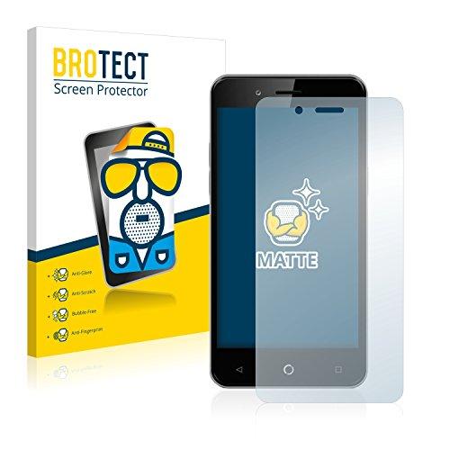 BROTECT 2X Entspiegelungs-Schutzfolie kompatibel mit Allview P6 Pro Bildschirmschutz-Folie Matt, Anti-Reflex, Anti-Fingerprint