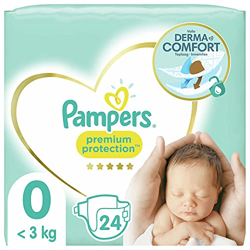 4. Pampers Premium Protection