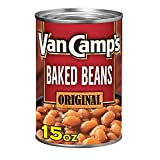 Van Camp's Original Baked Beans, Canned Beans, 15 OZ (Pack of 12)