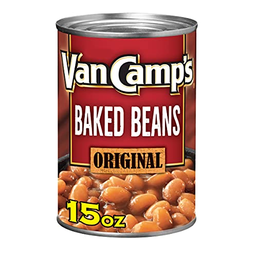 Van Camp's Original Baked Beans, Canned Beans, 15 OZ (Pack...