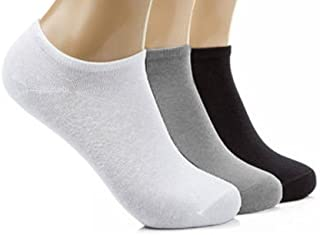 Mens Athletic Low Cut Ankle Sock Snow Polar Bear Blue Short Comfort Sock