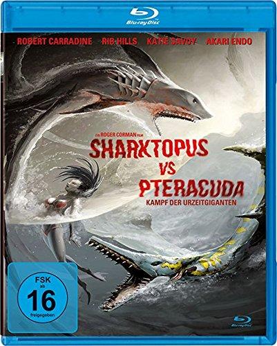 Sharktopus vs Pteracuda - Kampf der Urzeitgiganten [Blu-ray]