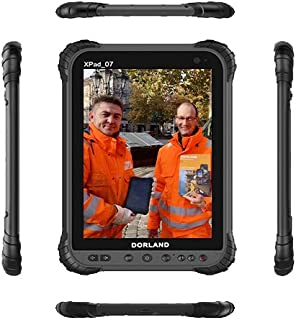 DORLAND XPad-07 Industrial Explosion-Proof PAD, Intrinsically Safe for Oil & Gas Industry and Hazardous Areas, IP67,Waterproof Dustproof Shockproof Tablet,4G Android 8.1 GPS Navigation