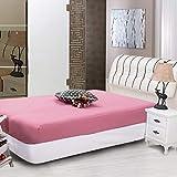 WFDDSD Einfarbig bettlaken Einteilige matratze Set bettwäsche Einteilige bettwäsche schutzhülle rutschfeste matratze bettdecke A-45 180cmx200x30cm