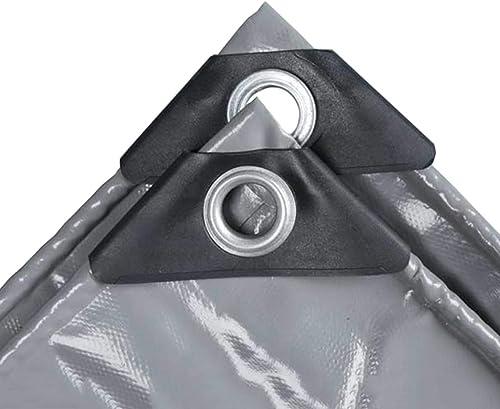 Prougeection Contre la Pluie et Le Soleil Bache de Prougeection (gris)   Bache imperméable Robuste   Couverture pour Tente Camping, hamac, Piscine, Voiture, Moto