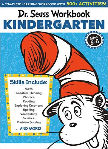 Dr. Seuss Workbook: Kindergarten: 300+ Fun Activities with Stickers and...