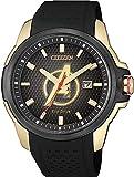 [シチズン] 腕時計 「The Avengersモデル」 オリジナルBOX付 AW1155-03W メンズ ブラック