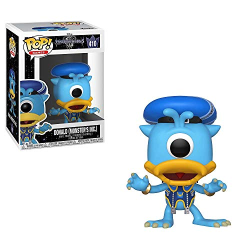 Pop! Kingdom Hearts 3 - Figura de Vinilo Donald (Monsters Inc.)