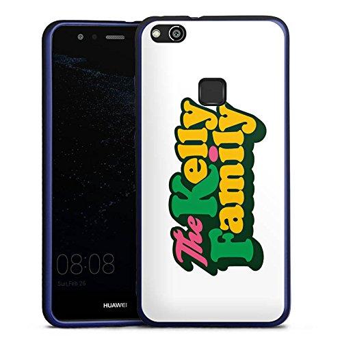 DeinDesign Huawei P10 lite Silikon Hülle Blau Case Schutzhülle The Kelly Family Logo Offizielles Lizenzprodukt