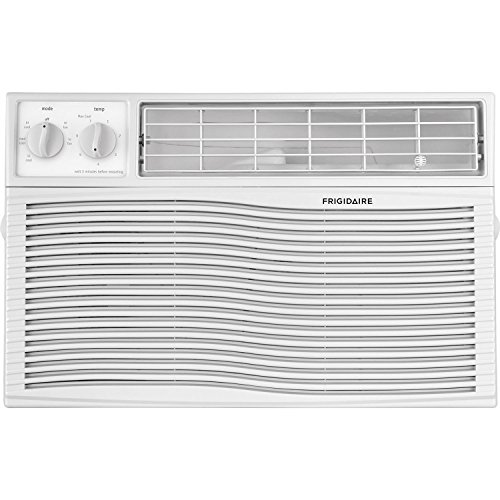 FRIGIDAIRE FFRA0611U1, White Air Conditioner, 6000 BTU
