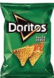 Frito Lay, Doritos, Tortilla Chips, 9.75oz Bag (Pack of 3) (Choose Flavors Below) (Salsa Verde)