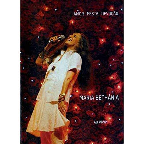 MARIA BETHANIA - AMOR, FESTA E D(DVD