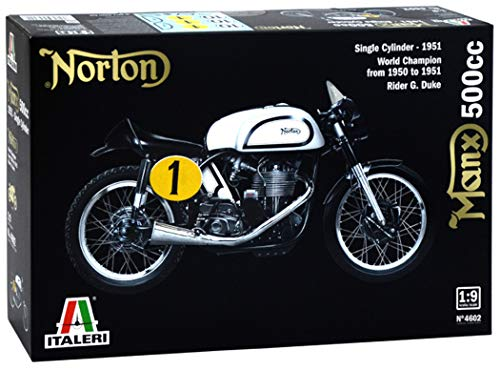 Italeri 4602 - Norton Manx 500cc 1951 Model Kit  Scala 1:9