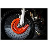 0016057.011.016 Copridisco anteriore Acerbis X-Brake arancio 2 '16
