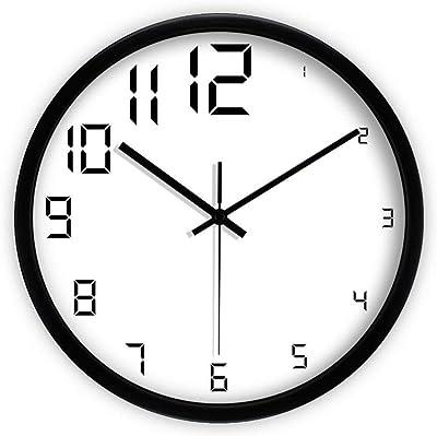 YHEGV Minimalist Knows as-of-The-Art Deco Wall Clock Wall Clock Mute