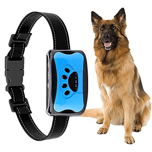 Automatisches Anti Bell Halsband,YIZHIGOU Erziehungshalsband Hund ,Wasserdicht Anti-Bell-Halsbänder Geeignet für große Hunde, mittlere Hunde, kleine Hunde