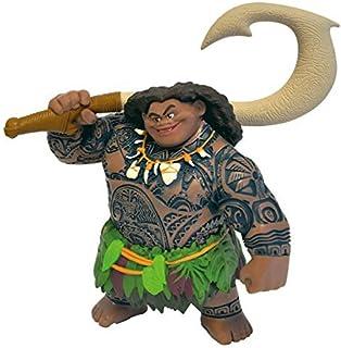 Bullyland BUL-13186 Disney Moana Figure Demi-God Maui, Multicolor