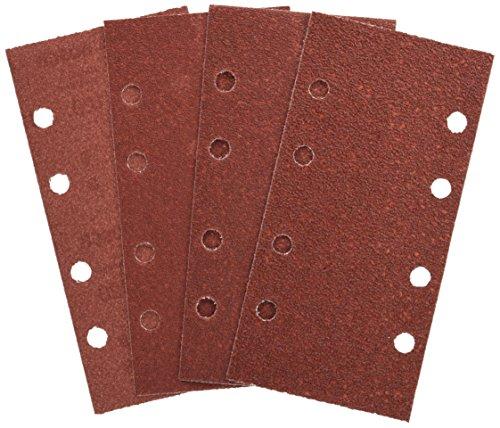 Bosch Set de 25 hojas de lija para varios materiales (grano 40/60/80/120, 8 agujeros, accesorios para lijadora orbital)