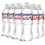 Propel, Watermelon, Zero Calorie Sports Drinking Water with Electrolytes and Vitamins C&E, 16.9 Fl Oz (12 Count)