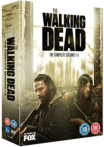 The Walking Dead Seasons 1-5 Boxset [DVD] [2015] [Reino Unido]