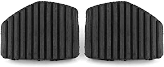 Keenso 2Pcs Brake & Clutch Pedal Pad Rubber Cover For Peugeot/Citroen 1007 207 208