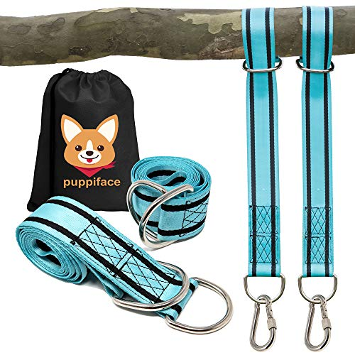 Disc Tree Swing /& Tire Swing Rope Swing Hammocks Kraftex Tree Swing Straps 2 Pack Easy Tree Swing Straps Hanging Kit for Wooden Swing 6ft Long Adjustable Straps with 2 Heavy Duty Carabiners