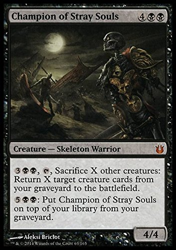 Magic The Gathering - Champion of Stray Souls (63/165) - Born of The Gods