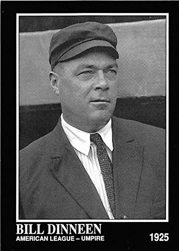 Bill Dinneen baseball card (American League Umpire Boston Red Sox Legend) 1992 Sporting News Conlan Collection #374