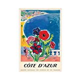 1947 Cote D'Azur Französische Riviera Vintage Weltreise