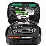 Bolsa de viaje para peluquería, bolsa de peluquería, bolsa de peluquería, bolsa de peluquería, bolsa organizadora de peluquería, bolsa de aseo, organizador (no contiene herramientas)