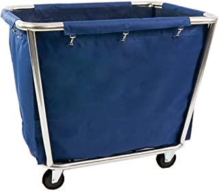 Kensington Carro de lavandería Comercial Grande para el hogar, almacén, Hotel, con Ruedas