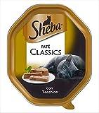 sheba - sheba paté classic con tacchino
