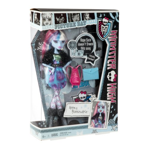 Monster High - Y8494 - Poupée - Abbey Bominable
