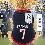 UD-strap NBA Jersey Camiseta De Perro De La Copa Mundial De Perro Ropa para Perros Pequeños Verano Chihuahua Tshirt Cachorro Chaleco Mascota Ropa S D