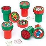 Baker Ross Estampadores Navideños (Pack de 10) para manualidades navideñas infantiles