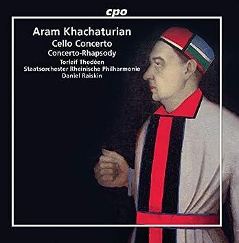 Khachaturian: Cello Concerto in E Minor & Concerto-Rhapsody for Piano & Orchestra