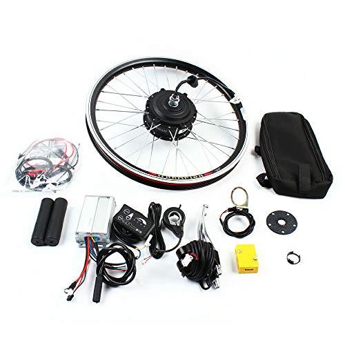 Aohuada Kit de conversión para bicicleta eléctrica de 20 pulgadas, rueda delantera de 36 V, 250 W, motor delantero
