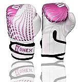 ONEX Guantes de Boxeo para niños Guantes de Entrenamiento perforación Saco Kickboxing MMA Lucha Artes...