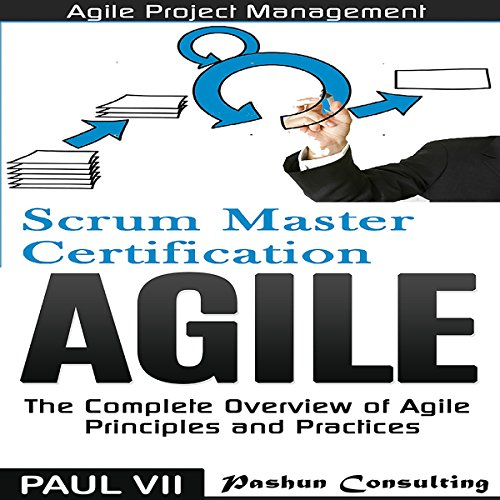 Page de couverture de Agile Product Management: Scrum Master Certification: PSM 1 Exam Preparation & Agile