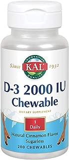 Best kal vitamin d3 Reviews