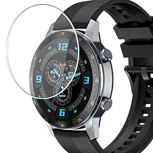 Vaxson 3 Stück 9H Panzerglasfolie, kompatibel mit ZTE Watch GT, Panzerglas Schutzfolie Displayschutzfolie Smartwatch Armbanduhr