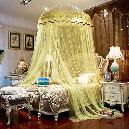 TYAWY Mosquiteros Canopy, Mosquitera de Encaje para Cama de Princesa Dosel de Encaje para Niños Decoración para Interior Exterior Camping Dormitorio