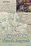 Bhutan Travel Journal (Map-themed Travel Diaries)